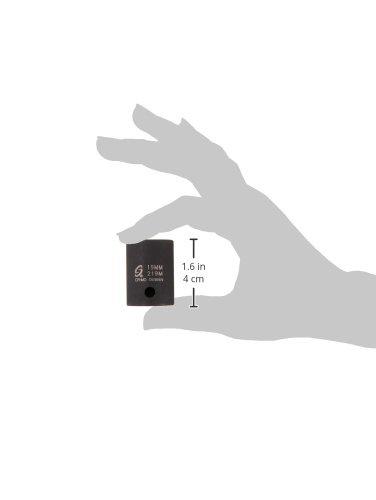 Sunex 219m 1//2-Inch Drive 19-mm Impact Socket