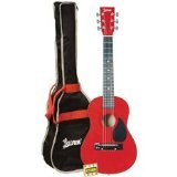 Lauren LAPKMRD 30-Inch Student Guitar Package - Metallic Red