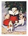 (Jack Russell Pups Holiday Note Cards)