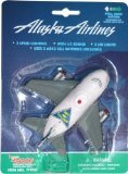 Pullback Alaska Airlines Toy with Light and Sound