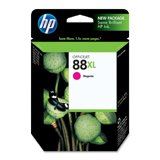 HP C9392AN (HP 88XL) Ink Cartridge, 1980 Page-Yield, Magenta-- by BND 882780169531 C9392AN140