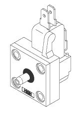 Micro-Switch & Diaphragm Assembly for Pelton & Crane PCA752