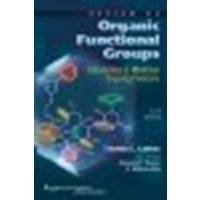 Review of Organic Functional Groups: Introduction to Medicinal Organic Chemistry by Lemke PhD, Thomas L., Roche PhD, Victoria F., Zito PhD, S. W [LWW, 2011] (Paperback) 5th Edition [Paperback]