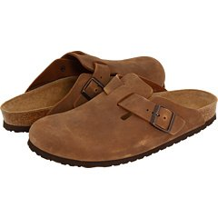 Birkenstock Women's Boston Leather Clog,Antique Coconut,46 EU/15 N US by Birkenstock