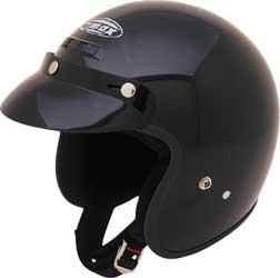 Gmax Youth Gm2Y Open Face Helmet Black Small/Medium (Helmet Open Face Youth)