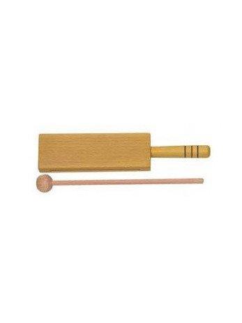 Amazon.com: CAJA CHINA - Goldon (33312) Mini Caja China (Con Mango) Madera (Color Amarillo) (Una Unidad): Musical Instruments