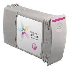 Compatible Cartridge for HP DesignJet 4000, 4500 Series Aqueous Magenta (400 ml) C5063A (#90) (C5063a Magenta Ink)