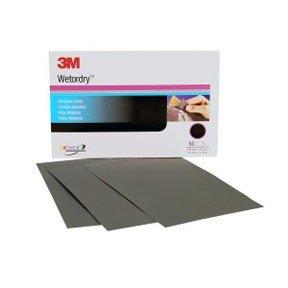 3M(TM) Wetordry(TM) Abrasive Sheet 434Q, 02621, 5-1/2 in. x 9 in., 1000, 50 sheets per box Review
