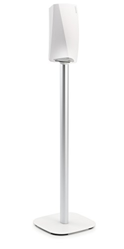 Vogel's Speaker Floor Stand for Denon HEOS - SOUND 5313 W for HEOS 1 & 3, White (single stand)