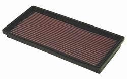 K&N ENGINEERING 33-2165 Air Filter; Panel; H-1.125 in.; L-5.875 in.; W-12 in.; OEM 4876074;