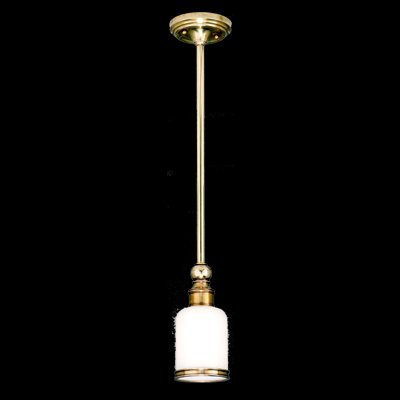 Hudson Valley Lighting 6321-AGB One Light Pendant from the Chatham collection Aged ()