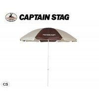 ダンプ語マートCAPTAIN STAG キャプテンスタッグ エクスギア UVカットパラソル200cm UD-1 ブラウン×カーキー