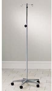 - Knob-Lock IV Pole, 5 leg cast aluminum base with 2 hooks
