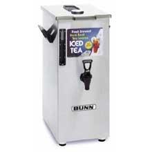 Bunn O Matic TD4T Square Style Iced Tea Dispenser - No Decal, 17.1 x 9.1 x 15.7 inch - 1 each.