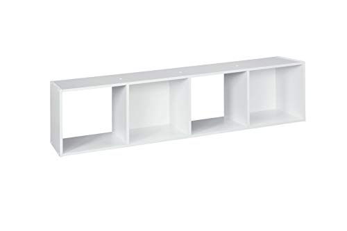 ClosetMaid 1029 Cubeicals Organizer, 4-Cube, White -