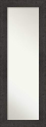Amanti Art Full Length Mirror | Rustic Plank Espresso Mirror Full Length -