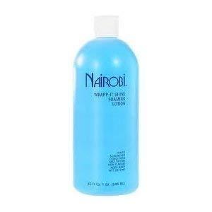 Amazon Com Nairobi Wrapp It Shine Foaming Lotion 32 0 Fluid Ounce By Nairobi Beauty