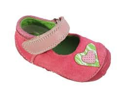 Hush Puppies Niñas 'el primer amor' rosa zapatos de Prewalker Lentejuela Bowknot Talla:Child 4 UK