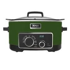 NINJA 4-in-1 Cooking System, 6 Qt (Certified Refurbished) (Green)