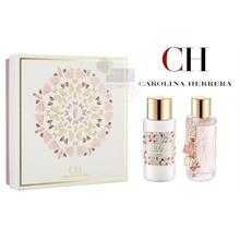 Carolina Ch L'eau By Carolina Herrera Gift Set for Women: 3.4 Oz Eau Fraiche Natural Spray + 6.7 Oz Body Lotion