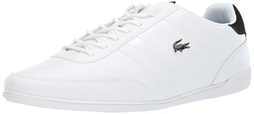 64b35c7f9 Lacoste Men s Giron Sneaker White Black 8 Medium US
