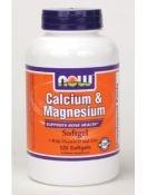 NOW Foods calcium / magnésium et de la vitamine D et du zinc, 120 gélules
