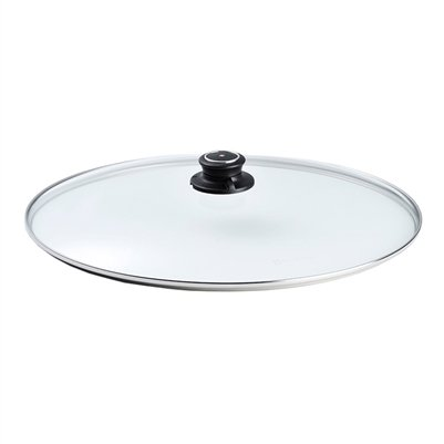 - Swiss Diamond C2638 Tempered Glass Lid for Oval Fish Pan