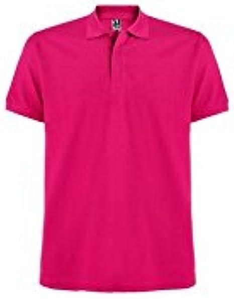 ROLY - Polo - para Hombre Rosa Rosa Oscuro XXX-Large: Amazon.es ...