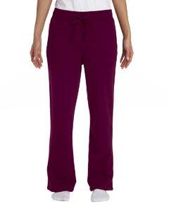 (Gildan Heavy Blend Youth 8 oz., 50/50 Open-Bottom Sweatpants XL)