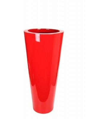 Le Present J19590.061 M Red Fiber Pot Cone44; 35.4 x 15.7 in. by Le Present