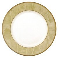 Entertaining with Caspari Gold Moire Salad-Dessert Plates, Pack of -