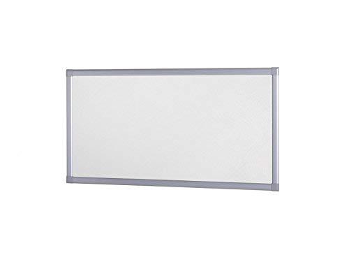 Lichtschachtabdeckung in Silber für Kellerschacht und Lichtschacht, 80 x 150 cm, individuell kürzbar, moderner und trittfester Gitterrostabdeckung mit Alurahmen und hochtransparentem EVA-Gewebe individuell kürzbar empasa