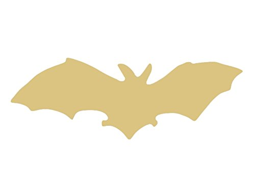 Bat Cutout Unfinished Wood Halloween Decor Zoo Animal Decorations Door Hanger MDF Shape Canvas Style 1 -