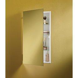 Jensen 869P34WH Specialty Flush Mount Single-Door Recessed Mount Medicine Cabinet