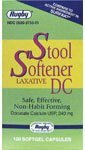 [3 PACK] RUGBY® STOOL SOFTENER LAXATIVE DC DOCUSATE CALCIUM USP, 240MG 100CT (PACK OF 3 BOTTLES) *Compare to the same active ingredients in Surfak® & SAVE!!!* (Docusate Surfak Stool Calcium)