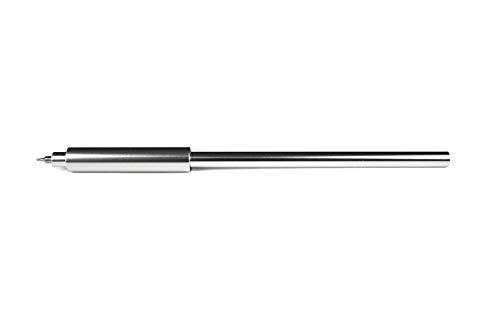 Pen UNO: Minimalist Pen. All-Aluminum Pen For Hi-Tec C Coleto Refill - Raw Aluminum Color