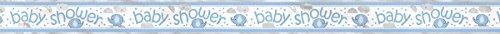 12ft Foil Blue Elephant Boy Baby Shower -