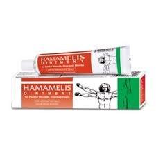 5 Pack of Hamamelis Ointment Bleeding Piles - Baksons Homeopathy - Hamamelis Ointment