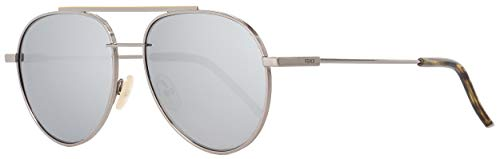 (Sunglasses Fendi 222 /S 06LB Ruthenium / T4 black mirror)