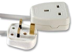 Pro Elec Extension Lead One Gang Cable -  0.5 Meter pl13128plpl
