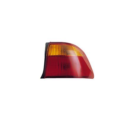 Fits 1999-2000 Honda Civic Rear Tail Light Passenger Side Unit HO2819111 4dr For Sedan; body mounted - replaces 33501-S04-A51 00 Honda Civic 4dr Tail