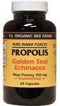 Propolis with Goldenseal & Echinacea YS Eco Bee Farms 60 Caps