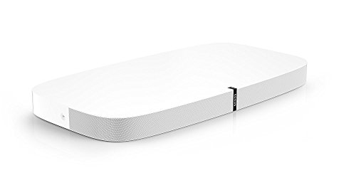 Sonos PLAYBASE for Home Theater and Streaming Music (White)
