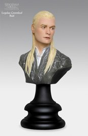 LEGOLAS GREENLEAF The Lord of the Rings: The Two Towers 1/4 Scale 2002 Polystone Bust