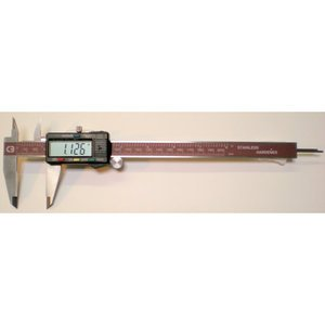 Chicago Brand 50002 8-Inch Electronic English and Metric ...