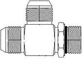 Tee 10 Units 1//2 in Male JIC 37/° Flare x 1//2 in Male JIC 37/° Flare x 1//2 in Male O-Ring Boss Brennan