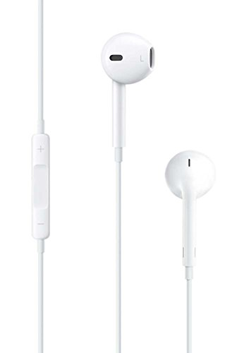 """Parallel Universe """"E-PODS"""" Earphones/Earpods/Earbuds with mic,  remote control and 3.5mm jack-White"""
