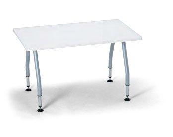 テーブル(幅150×奥行75cm)(角形)(天板昇降)(キャスター付き)(SHT-1575KC)(LGR(M1)) B003ZK2HNK LGR(M1) LGR(M1)