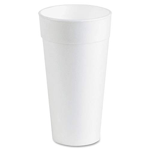 Genuine Joe Hot/Cold Foam Cups, 20 oz (20oz Styrofoam)