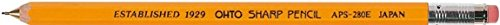 Gomas de borrar mec/ánicas con eje de /árbol con APS-280 color amarillo OHTO